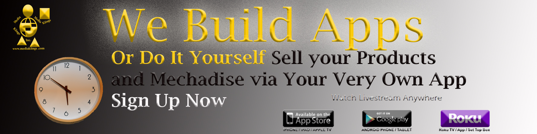 Get Your Own App Today
